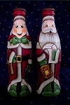 Mr. and Mrs. Claus Coke Bottle