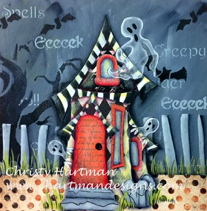 Enchanted Home Scary Celebration of Family E-Pattern